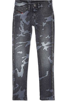 DIESEL Camo slim jeans 4-16 years