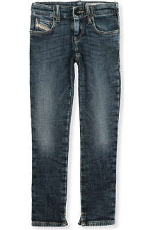 DIESEL Super-slim Grupeen denim jeans 4-16 years