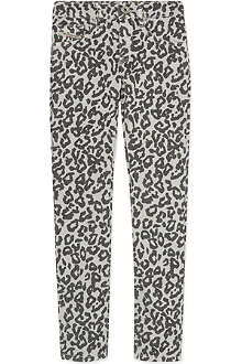 DIESEL Livier leopard print jeggings 4-16 years