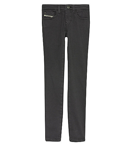 DIESEL Skinzee super-skinny fit jeans (Anthracite