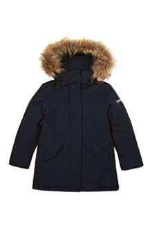 WOOLRICH Faux-fur arctic parka 2-14 years