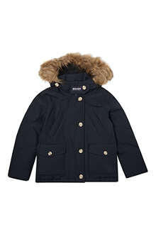 WOOLRICH Down-filled parka coat 6-14 years