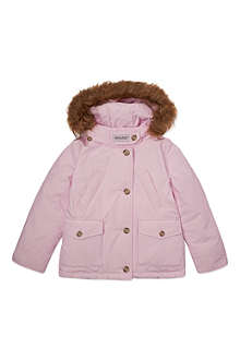 WOOLRICH Faux fur bekley jacket 6-14 years