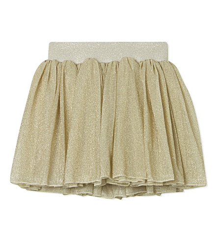 BOB & BLOSSOM Party skirt 0-8 years (Gold+sparkle