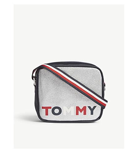 TOMMY HILFIGER Glitter logo cross-body bag (Glitter