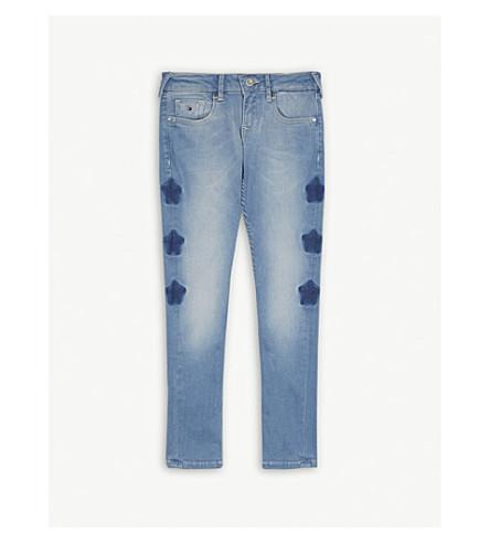 TOMMY HILFIGER Sophie star print skinny jeans 4-16 years (Blue