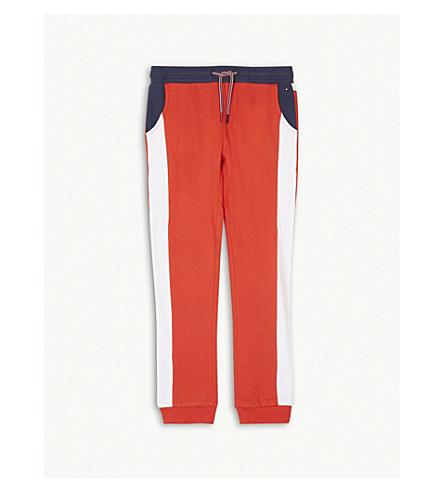 TOMMY HILFIGER Cotton jogging bottoms 7-16 years (Red