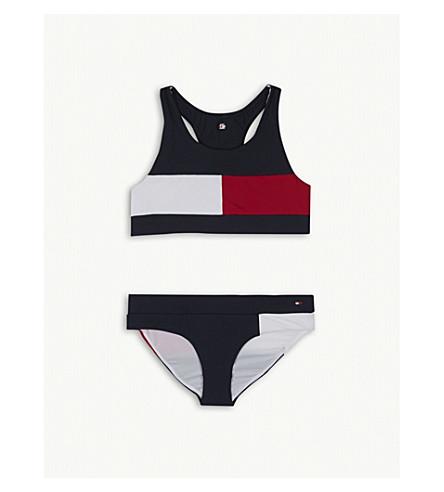 TOMMY HILFIGER Colour block bikini 4-16 years (Navy