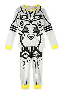 STELLA MCCARTNEY Louie Robot pyjama set 3-14 years