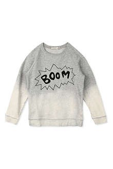 STELLA MCCARTNEY Billy Boom ombré sweatshirt 3-14 years