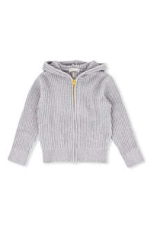 STELLA MCCARTNEY Spike knitted hoody 3-14 years