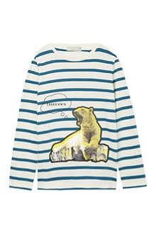 STELLA MCCARTNEY Striped bear top 2-12 years