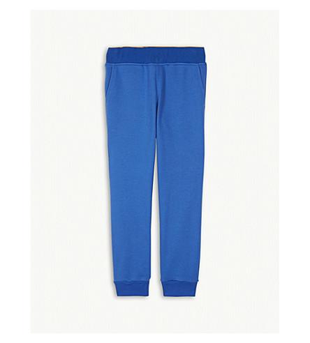 PAUL SMITH JUNIOR Logo cotton-blend jogging bottoms 4-16 years (Olympian+blue