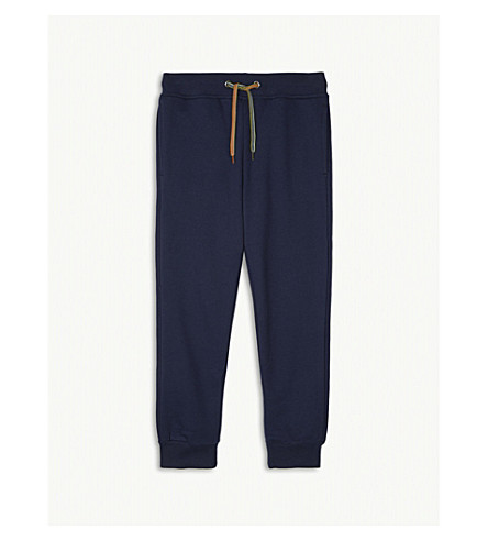 PAUL SMITH JUNIOR Rufus cotton-blend jogging bottoms 4-16 years (Navy