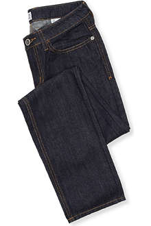 ARMANI JUNIOR Dark-wash denim jeans 10-16 years