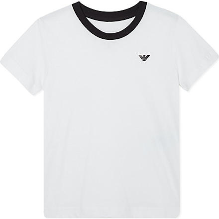 ARMANI JUNIOR Classic t-shirt 2-16 years (White