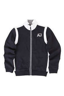 ARMANI JUNIOR Zip-up cardigan 10-16 years