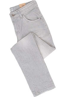 ARMANI JUNIOR Crinkle effect jeans 10-16 years