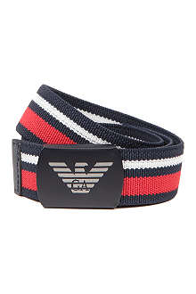 ARMANI JUNIOR Woven striped belt 2-8 years