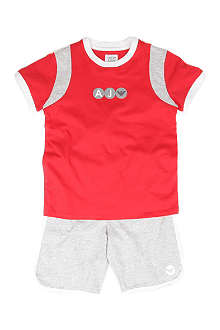 ARMANI JUNIOR Top and shorts set 2-8 years