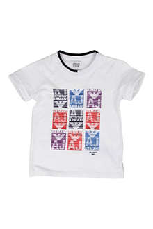 ARMANI JUNIOR Logo t-shirt 2-8 years