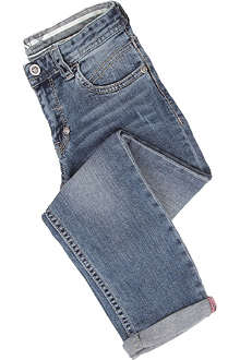 ARMANI JUNIOR Turn-up jeans 2-8 years