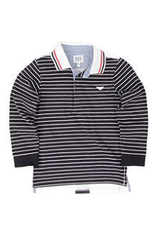 ARMANI JUNIOR Long sleeve polo shirt 2-8 years