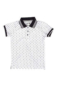 ARMANI JUNIOR Graphic-print polo shirt 2-8 years