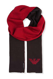 ARMANI JUNIOR Armani reversible scarf