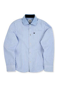 ARMANI JUNIOR Oxford stripe shirt 10-16 years