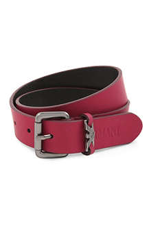 ARMANI JUNIOR Leather belt S-L