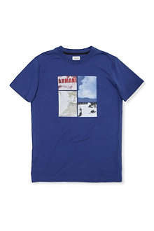 ARMANI JUNIOR Bold logo t-shirt 10-16 years