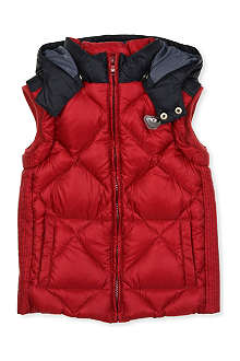 ARMANI JUNIOR Quilted gilet jacket 2-8 years