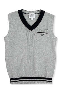 ARMANI JUNIOR Knitted vest 2-8 years