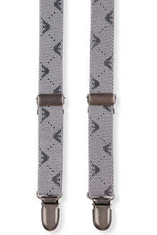 ARMANI JUNIOR Logo-detailed braces