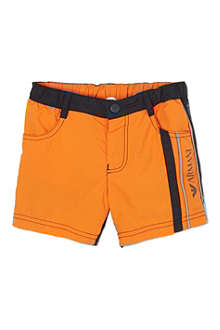 ARMANI JUNIOR Logo swimming shorts 2-8 years
