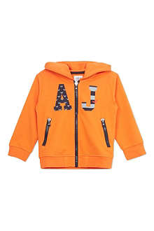 ARMANI JUNIOR Logo hooded sweatshirt 2-8 years