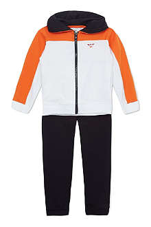ARMANI JUNIOR Colour block tracksuit 2-8 years