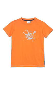 ARMANI JUNIOR Paint splash logo t-shirt 2-8 years