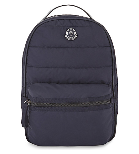MONCLER Puffer backpack (Navy