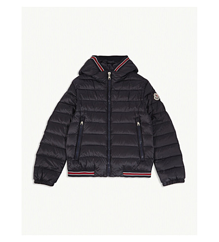 MONCLER Eliot hooded jacket 4-14 years (Navy