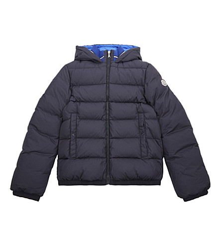 MONCLER Stefan puffa jacket 4-14 years (Navy