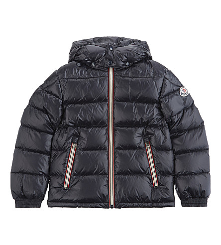 MONCLER New Gaston quilted puffer jacket 4-14 years (Navy