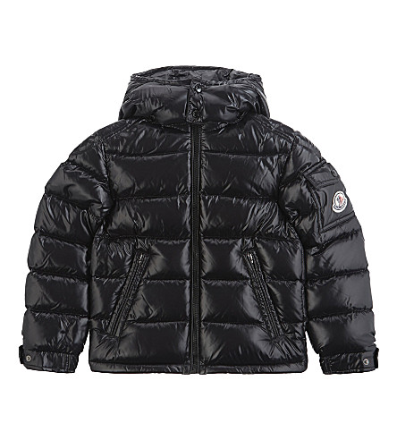 MONCLER New Maya quilted puffer jacket 4-14 years (Black