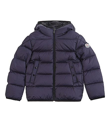 MONCLER Serge quilted puffer jacket 4-14 years (Navy