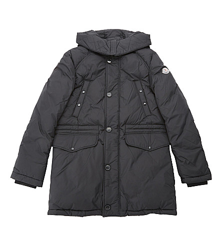 MONCLER Dirk padded parka coat 4-14 years (Black