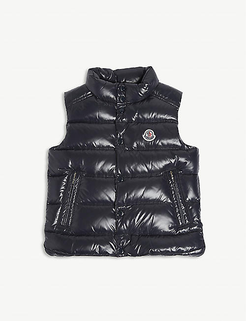 MONCLER Tib down padded gilet 4-14 years
