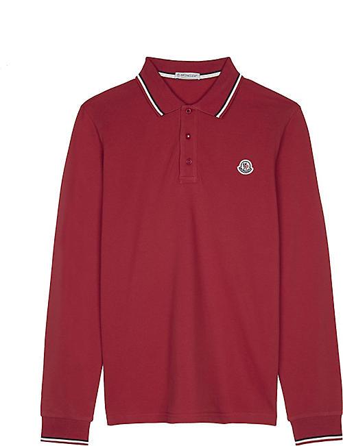 moncler polo shirt age 14