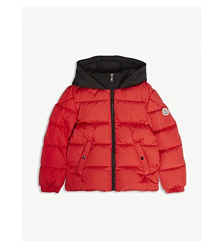 78af12065c13 MONCLER Arthon logo quilted jacket 4-14 years (Red