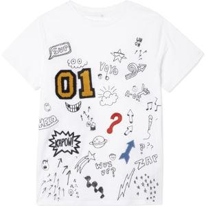 Arlo graffiti cotton t-shirt 4-14 years